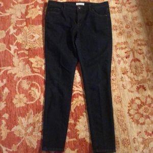 The Loft Modern Skinny blue jeans